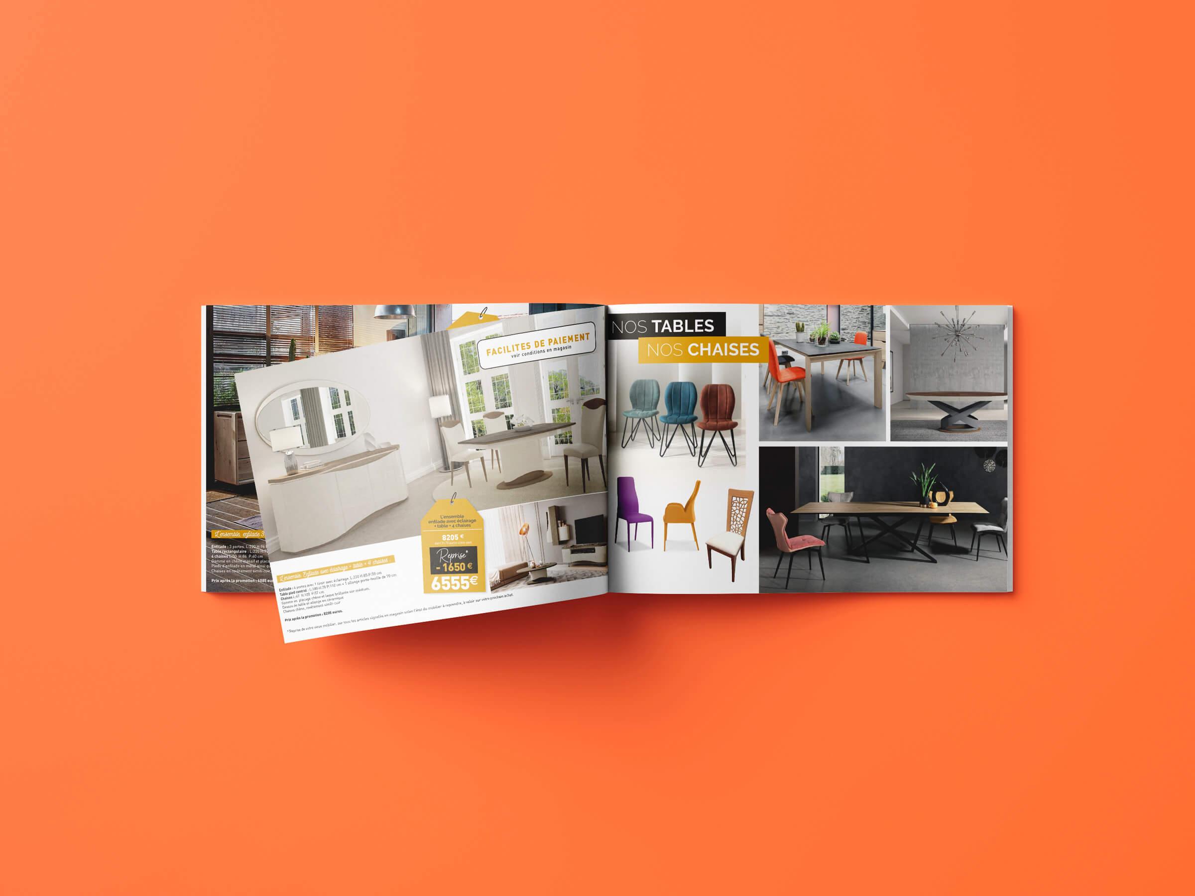 création et conception catalogue quality meubles