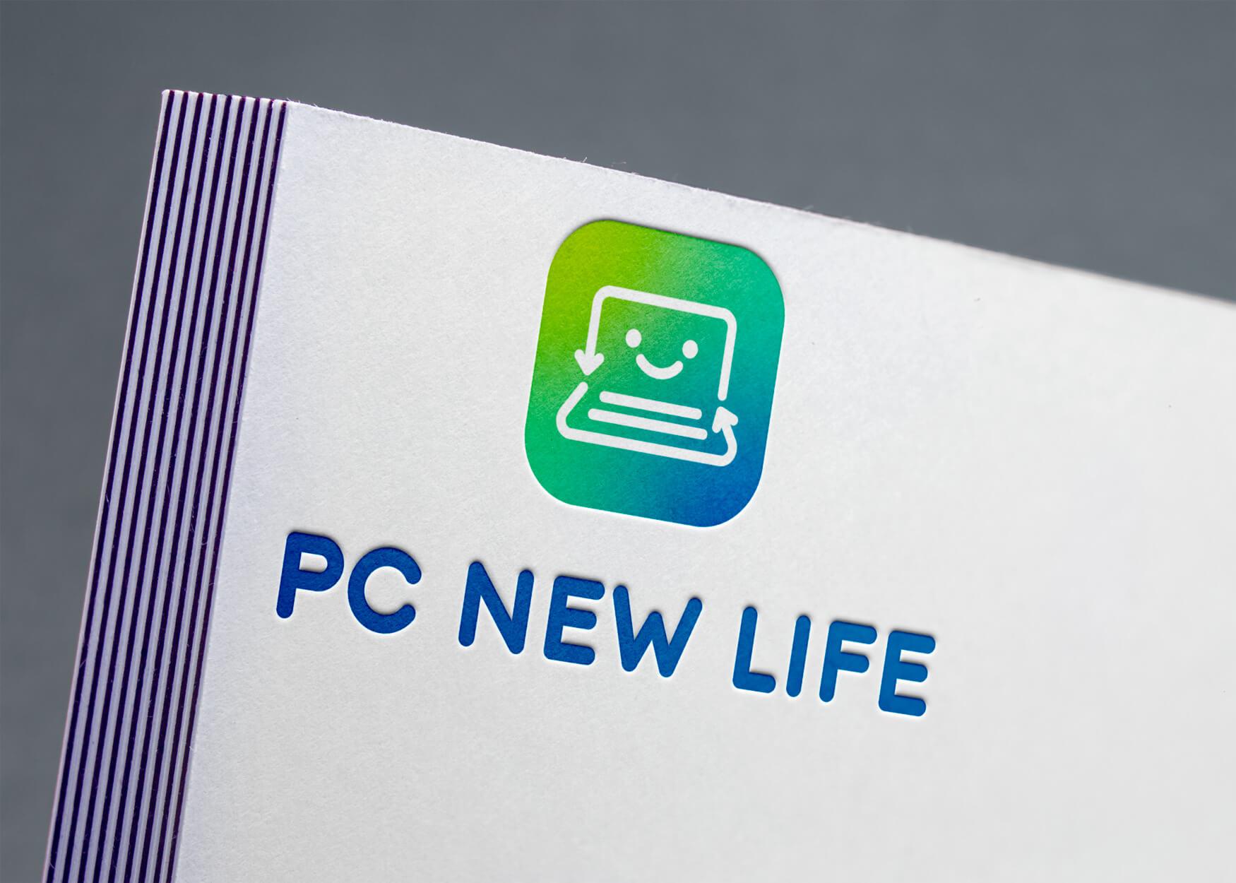 création identité de marque pc new lif