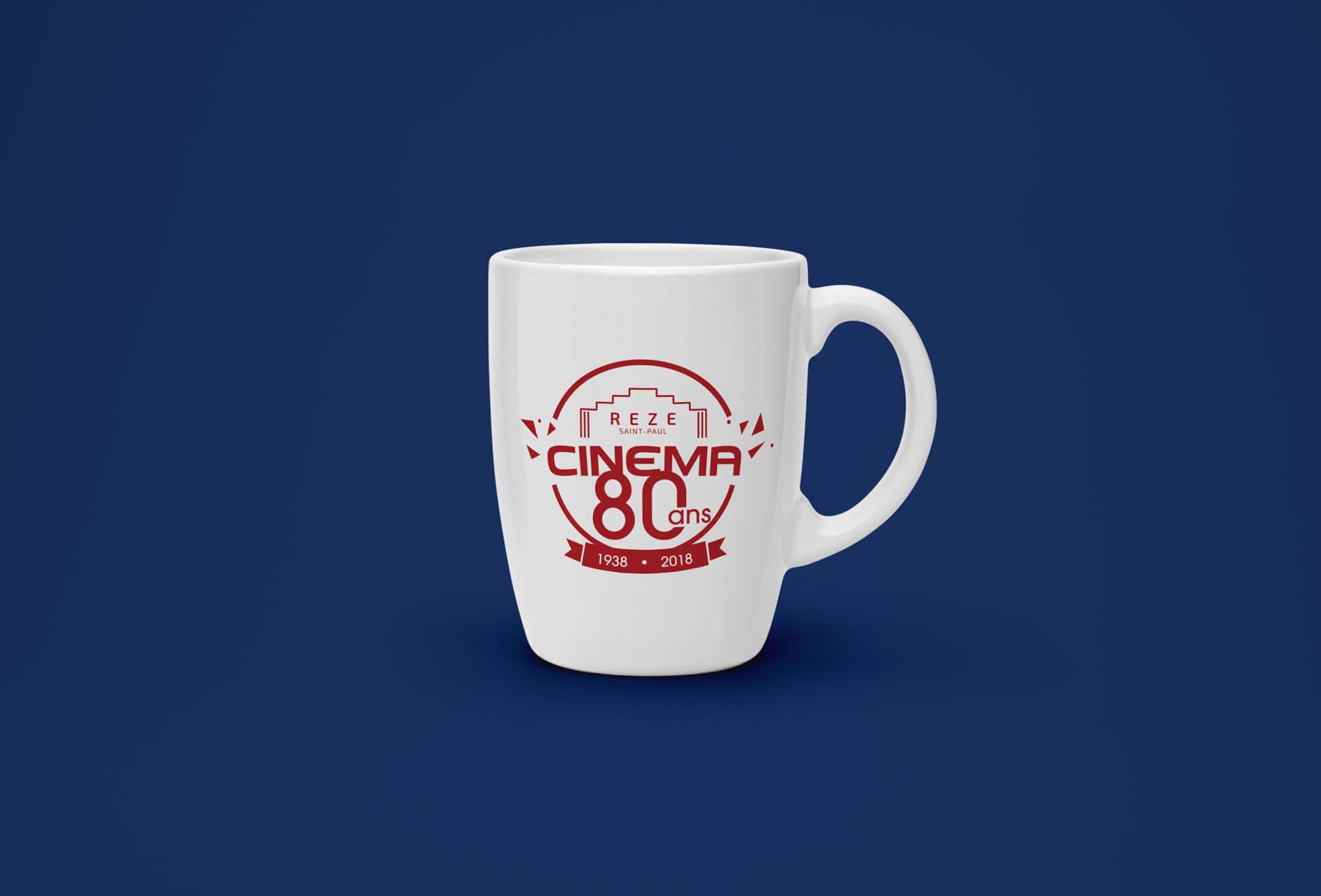 mug création logo cinéma st paul rezé