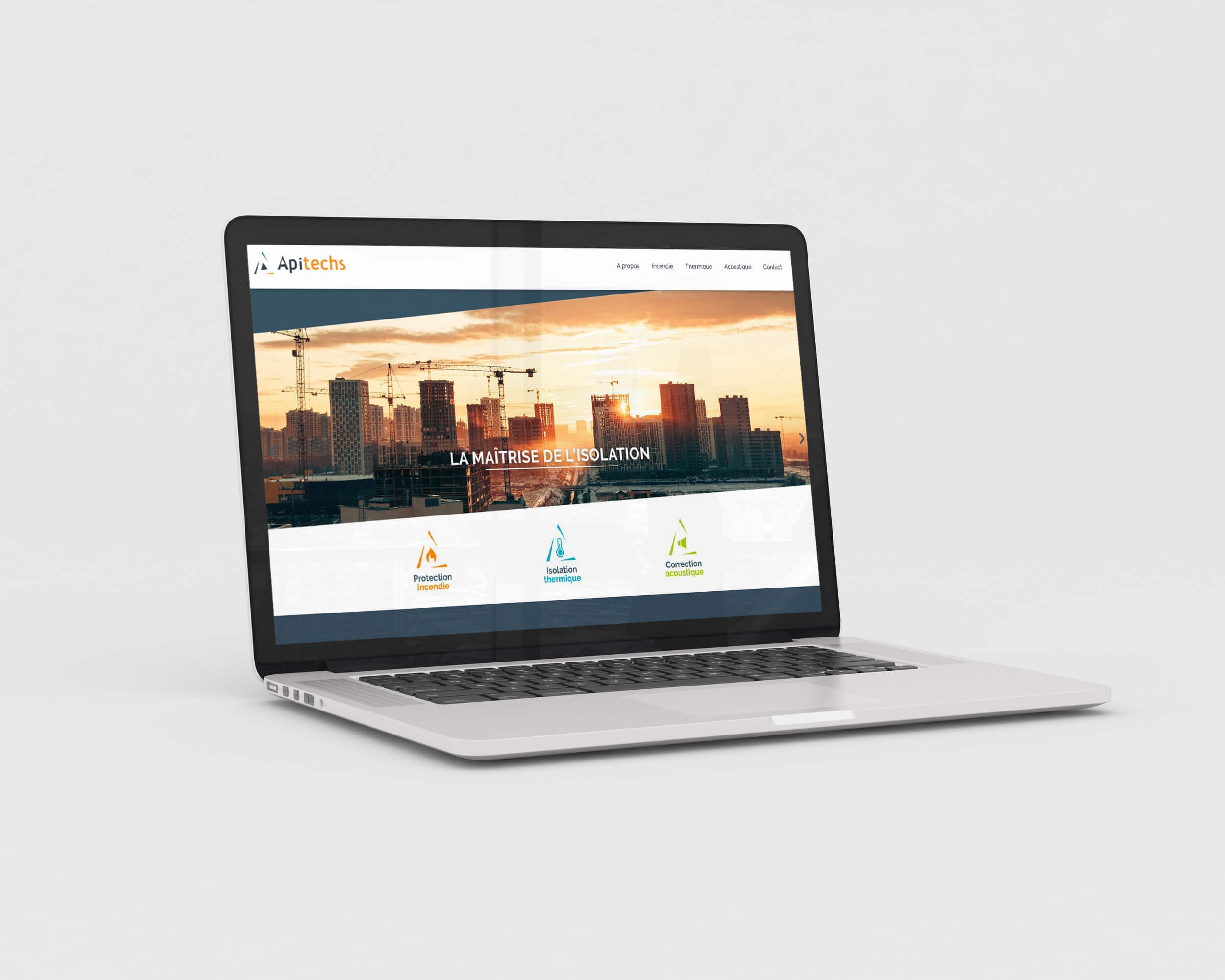 création site internet sur mesure apitechs