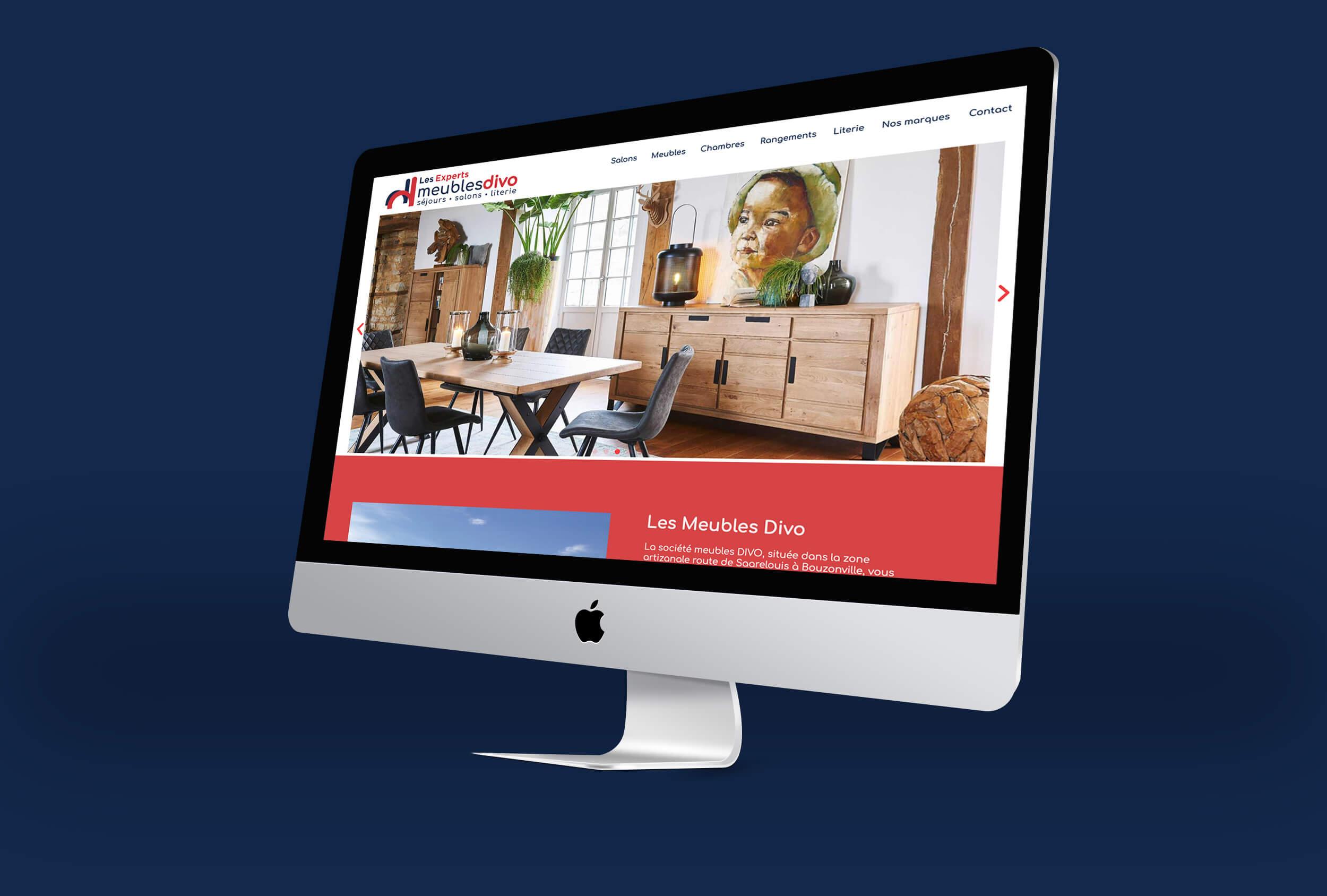 site internet meubles divo