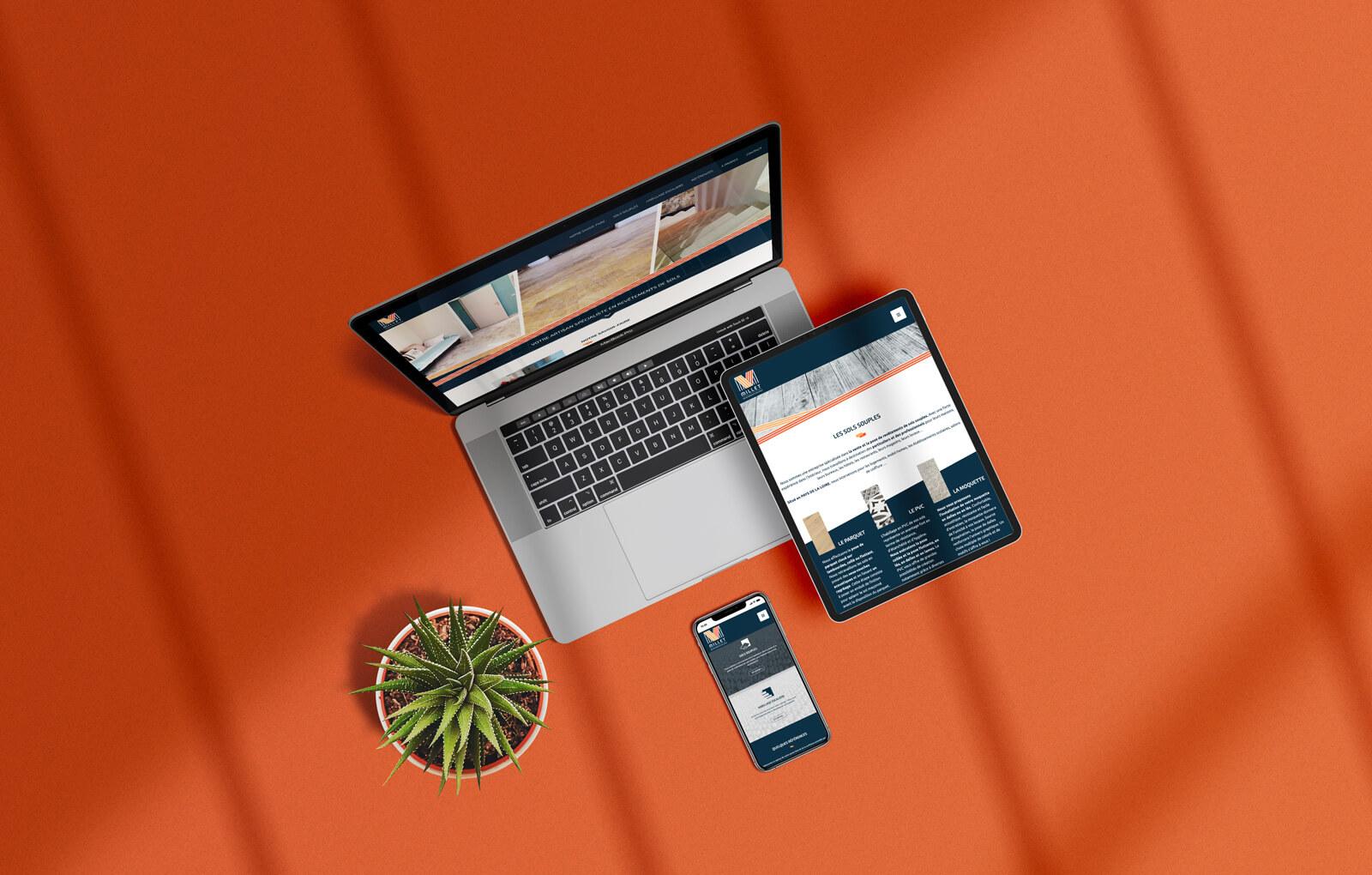 site web millet revêtements de sols