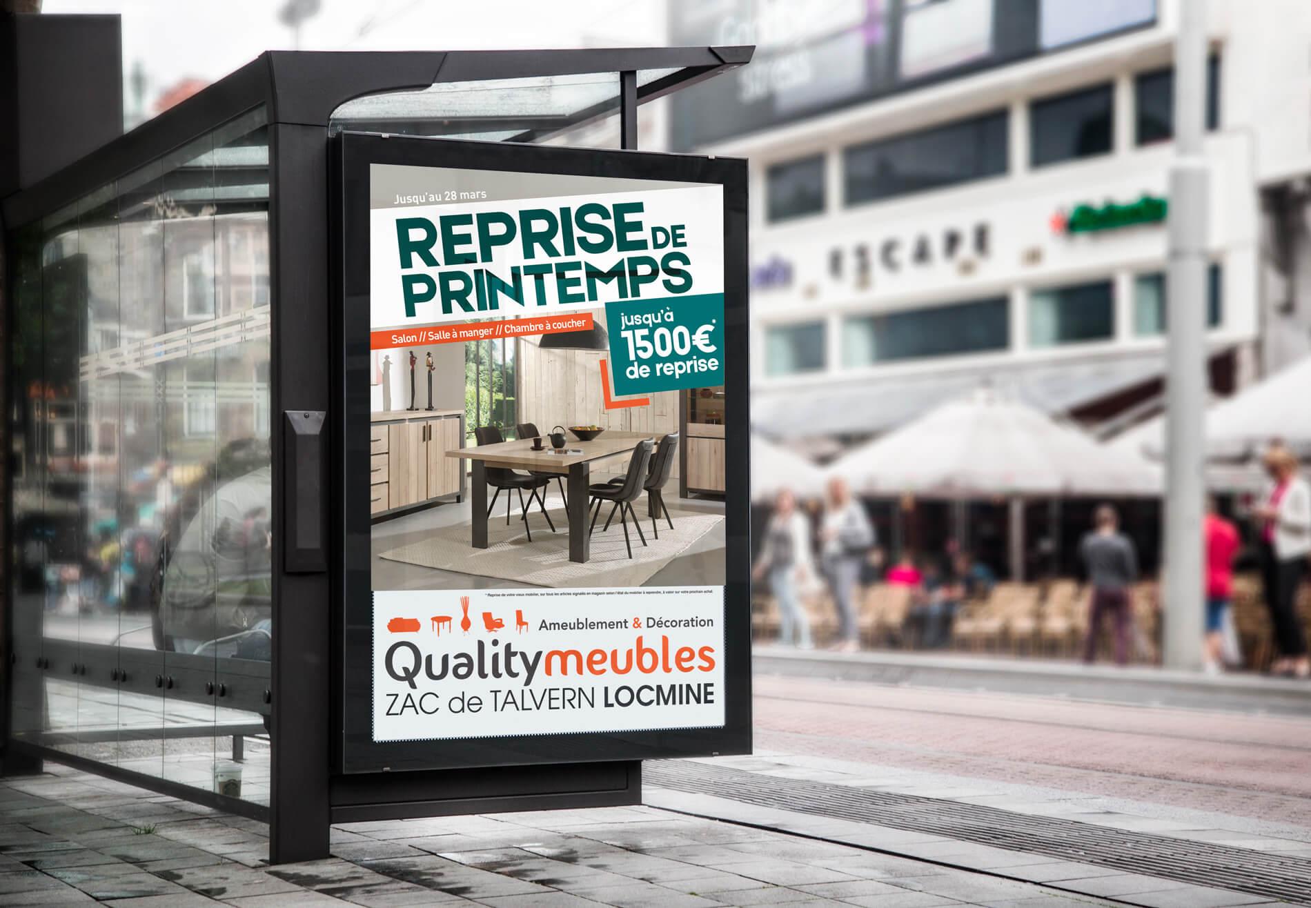 campagne pub quality meubles