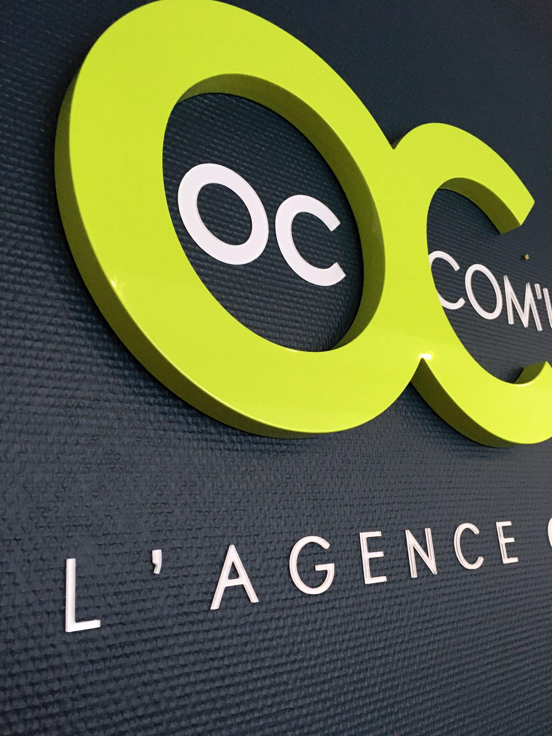 logo mural agence OC Com'unique